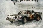 Frank Ravot - Patrick Trecco, Lancia Stratos HF, retired