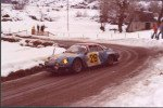 Franz Hummel - Jean-Francois Fauchille, Renault Alpine A110 1800, 44thd