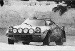 Leo Pittoni - Gianpiero Bertocci, Lancia Stratos HF, excludedd
