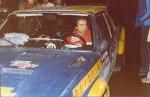 Maurizio Verini - Ninni Russo, Fiat 131 Abarth, accident
