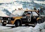 Maurizio Verini - Ninni Russo, Fiat 131 Abarth, accidentf
