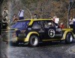 Maurizio Verini - Ninni Russo, Fiat 131 Abarth, accidentg
