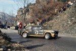 Maurizio Verini - Ninni Russo, Fiat 131 Abarth, accidentl