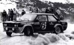 Maurizio Verini - Ninni Russo, Fiat 131 Abarth, accidents