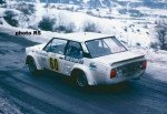 Patrick Lier - Jean-Pierre Flattini, Fiat 131 Abarth, 29th