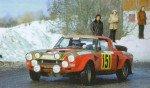 Rinaldo Brambilla - D.Ridella, Fiat 124 Abarth Spider, retiredq